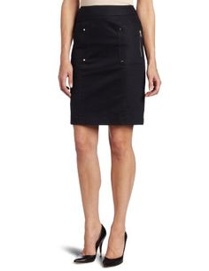 Calvin Klein Women's Pencil Skirt With Patch Pockets