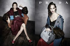 PRADA : the women of fall