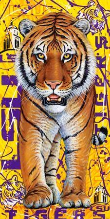 Tiger Mania by local artist Tony Bernard