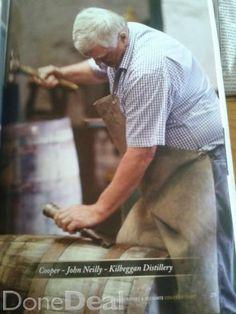 barrels &casks from kilbeggan cooperage CO Westmeath iRELAND.