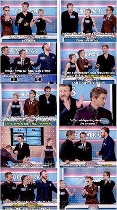 [gifset] Avengers Family Feud - Jimmy Kimmel Live