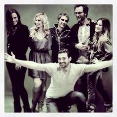 Reunion Mozart Family. Preparation for Russia + Ukraine . Florent Mothe, Melissa Mars, Diane Dassigny, Mikelangelo Loconte, Solal & Maeva Méline. 14/01/13