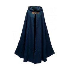 Ladies Medieval Cloak ❤ liked on Polyvore