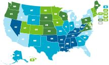 2013 - Americas Health Rankings report - State Health Statistics brought to you by AmericasHealthRankings.org.