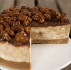 Sea Salted Caramel Cheesecake