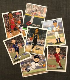 Adobe Photoshop, Trading Cards, Cartoon Characters, Adobe Illustrator, Character Design, Behance, Baseball Cards, Gallery, Illustration