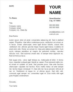 A Resume Cover Letter Template 2 Cover Letter Template