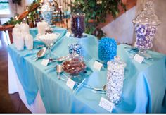 Purple and Teal Candy Bar!