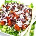Skinny Greek-Style Chicken Spinach Salad with Weight Watchers Points   Skinny Kitchen