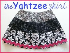 Yahtzee Skirt - pattern & instructions