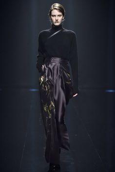 S Hanae Mori Manuscrit Tokyo Fall 2016 Fashion Show Collection
