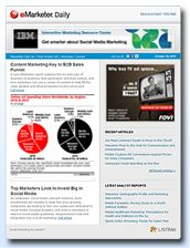 eMarketer.com - research and analysis on digital marketing and media.  objective analysis of internet marketing trends.