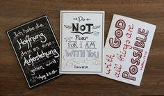 """Vintage Grußkarten - 3er-Set Klappkarten """"Vintage"""" +Umschlag - ein Designerstück…"""