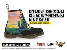 What do you stand for? Design your own Dr. Martens X Adventure Time boot with our new app.