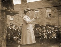Suffragettes in Dundee, 1913 Dundee City, Scottish Women, Suffragettes, Image C, Historical Images, Women's History, Highlands, Glasgow, Great Britain
