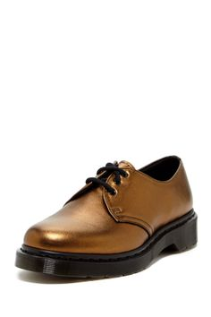Dr. Martens 1461 Metallic Oxford - love these