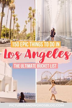 Looking for amazing things to do in Los Angeles? This Los Angeles travel bucket list experiences, iconic sights, hidden gems and more! Find out all the things you need to add to your Los Angeles itinerary. Los Angeles travel guide   Los Angeles California   California travel