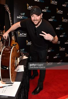 Singer/songwriter Chris Young attends Westwood One Presents #WWOBackstage @ 51st ACMs at MGM Grand Garden Arena on April 2, 2016 in Las Vegas, Nevada.