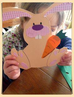 Bastelideen für kleinere Kinder => Basteln zu Ostern