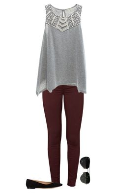 """Untitled #453"" by lt-forand on Polyvore featuring J Brand, Copper Key, Chloé and Ray-Ban"