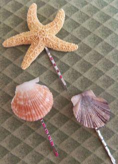 Beach Wedding Hair Accessories Starfish Bridal Hair by 3Mimis