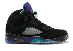 best website 1f226 505d3 136027-007 Air Jordan 5 Retro Grapes Black New Emerald-Grape Ice-Black  (Women Men) 5sXZw, Price   89.90 - Air Jordan Shoes, Michael Jordan Shoes
