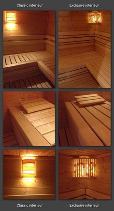 Finse sauna SK100. Geniet van deze luxe binnensauna met 1 ligbank. | Saunakoning
