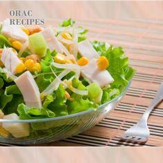 Σαλάτα με γαλοπούλα | tlife.gr Kai, Cantaloupe, Fruit, Recipes, Food, Green, Salads, The Fruit, Rezepte