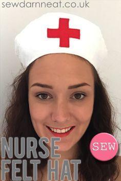 Sew Darn Neat   |   Sewing Blog: Sew: Nurse Felt Hat