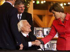 Happy 98th birthday, Billy Graham. :)