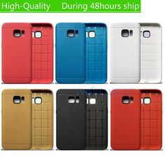 6 Colors Ultra Thin Honeycomb Style Luxury Soft TPU Case for Samsung Galaxy S7 Edge G935 Durable Phone Back Cover Bag