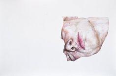Sleep - Terese B. Larsen @tereseblarsen #watercolor