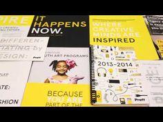 Pratt Institute Launches New Brand - YouTube