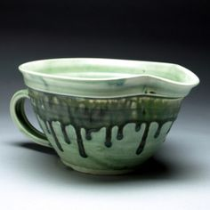Green Ash Mixing Bowl by rebeccalowery on Etsy, $35.00