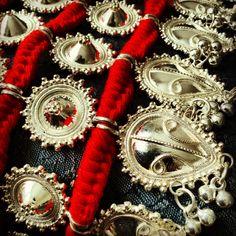 Odissi belt, pure silver....love!