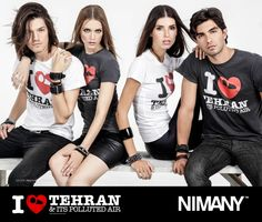 NIMANY, I love Tehran T-Shirt