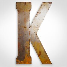 Fab.com | Industrial Metal Letter Signs by Watson & Co.