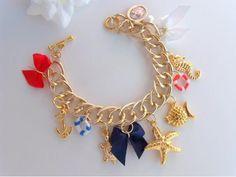 ♥FRETE GRÁTIS♥ Pulseira Moda Nautica - R$49.99