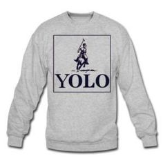 I love this Drake design! It's a great play on Polo. You only live once ( YOLO)