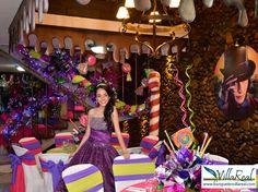 Salón de Laureles - Medellín Temática: Wonka www.banquetesvillareal.com