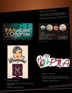 Medios impresos/Etiqueta/Tarjeta empresaríal/Adhesivo.