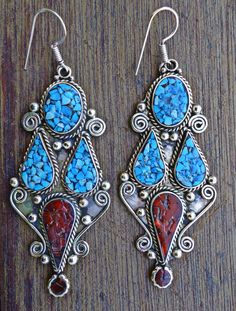 Hey, I found this really awesome Etsy listing at https://www.etsy.com/listing/226626347/antique-tibetan-tribal-turquoise-earring