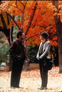 When Harry Met Sally (1989) One of my favorite movies ever; so clever and funny. Nominated:  	Best Writing, Screenplay Written Directly for the Screen---Nora Ephron