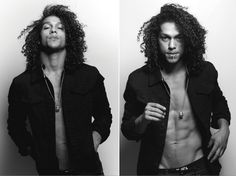 Ooh-wee. Another fine man interruption on my hair blog, oookaaaay? Luke Broadlick is his name, *___*