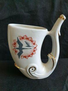 Vintage Soviet Russia Bashkiria health resort Yangantau USSR porcelain Mug  #BashkiriahealthresortYangantau