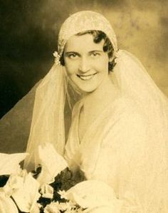 Bride in the early XX century.