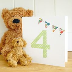 HANDMADE BIRTHDAY CARD This super-speedy personalised birthday card is perfect for kids. Find more easy craft ideas over on prima.co.uk
