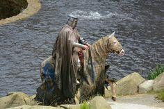 Le cheval au Moyen-âge.