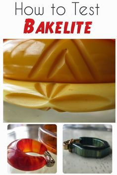 how to test and identify vintage bakelite jewelry