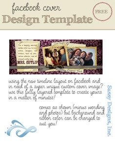 Facebook Timeline Cover Photo Template